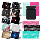 Keyboard Cover +Bag +Hard Rubberized Case Matte Laptop Shell For Macbook Pro Air
