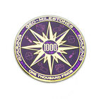 1000 Finds Geo-Milestones Geocoin And Pin Set - Award Your Geocaching Success