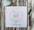 Wedding Planner Bride & Groom Personalised Notebook Gift Idea Various Sizes