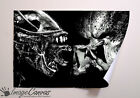 ALIEN VS PREDATOR GIANT WALL ART POSTER A0 A1 A2 A3
