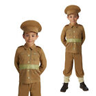 Rubies Childs WW1 Soldier Boys 1914s Army Outfit Kid Uniform Fancy Dress Costume