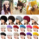 New Classic Fashion soft Women Wool Warm Beret Beanie Hat Cap French Style Gift