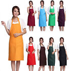 New Women Muti-color Cooking Kitchen Restaurant Bib Apron Dress with Pocket Gift
