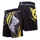 Tapout Performance Fight Shorts (Black/Yellow)