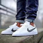 Nike Tennis Classic Mens Shoes Trainers White Black Leather 312495-129 SIZES NEW
