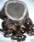 Full Lace Weave Closure Human Indian Remy Remi Quality Hair Partial Wig
