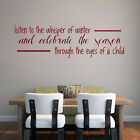 winter romance quotes - The Whisper of Winter - Seasonal Christmas Quotes Wall Decals