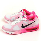 Nike Wmns Air Max Sequent White/Black-Pink Blast Sportstyle Running 719916-106