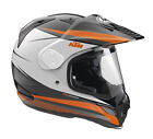 Arai Snipe R  KTM Motorcycle Helmets Ex-Display Model Reduced to Clear