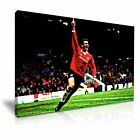 Eric Cantona Iconic Wall Art Print Stretched Canvas 9 Size to Choose