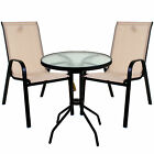 GARDEN FURNITURE SET PATIO OUTDOOR LARGE SEATING DINING AREA CHAIR TABLE PARASOL