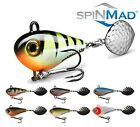 Spinning Tail JIGMASTER 12g Spinmad Lure Spinner Fishing Perch Chub Zander Pike