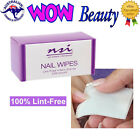 NSI Nail Wipes Lint-Free 200ct - Good for Acrylic, Gel and Gel Polish +Free Gift