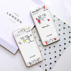 Simple Cartoon Fruit Drinks Soft Case With Tempered Glass for iPhone 6 6S 7 Plus