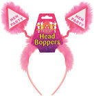 NEW 15 PACK Hen Party Head Boppers Pink Fluffy THIS IS X 15 HEAD BOPPERS