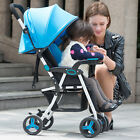 New Luxury Lightweight Umbrella Baby Stroller Toddler Travel Univesal Folding
