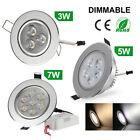 6W/9W/16W/24W CREE LED Recessed Ceiling Panel Down Lights Lamp Double Color New