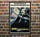 2001: A Space Odyssey - Vintage Film/Movie Poster