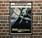 2001: A Space Odyssey - Vintage Film/Movie Poster [6 sizes, matte+glossy avail]