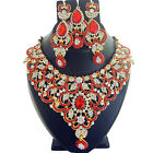Indian Jewelry Ethnic Bridal Necklace Bollywood Traditional Fashion Set Z 5