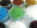 50 x Glass Beads ~ 6mm round ~ Choice of 9 Colours ~Jewellery Making Crafts