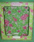 Lilly Pulitzer iPad 2 Cover NIP Chum Bucket NEW Green Pink Fish Crab Shells