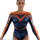 "Milano Pro Sport Gymnastic leotard 'Sienna 162301' - Sizes 26""-36"" - NEW"