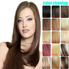 Thicker Heavy Clip In Remy 100% Real Human Hair Extensions 20 inches 80g 120g