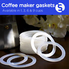 Universal Silicone Gasket for Aluminum 1, 3 & 6 Cups Espresso Coffee Maker Pot