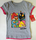 angry bird clothes - Angry Birds Size 4 Graphic Short Sleeve Tee Girls Clothing