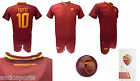 Shirt Totti Roma 2018 Official Set 2017 2018 Ball Serie A 0,5 Roma NEW