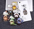 Funny Cartoon Finger Grip Ring Stand Holder for iPhone 5 5S 6 6S 7 Plus Samsung
