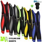 Men Cycling Bib Shorts Coolmax® Padded Cycle Pants Shorts