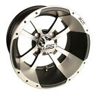 BUY THE COMBO AND SAVE!  Golf Cart Wheels,  AT Tires & Lift Kit - 40691 40270