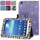 Samsung Galaxy Tab 3 8 Inch T310 Diamond Bling Pu Leather Stand Case Cover