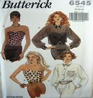 Butterick Sewing Pattern 6545 Ladies Bustier Corset Strapless Top Pick Size