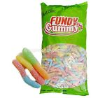SWEETS PARK LANE FUNDY GUMMY SOUR NEON WORMS HALLOWEEN CANDY