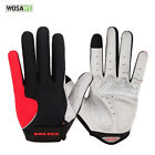 New Men Outdoor Sports Bicycle GEL Full Finger Gloves Cycling Hiking M-XL