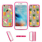 Lot 2Pcs Summer Fruit WatermelonTPU Hard Plastic Back Case For Iphone 5S 6S Plus