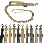 Tactical Dog Leash Control Handle Police Military Training Army Elastic Bungee