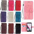 Fashion KT Flip Pattern Hybrid Stand PU Leather Cover TPU Case Wallet For Phone