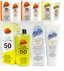 MALIBU LOTION MEDIUM - HIGH PROTECTION WITH MIRACLE TAN BEFORE AFTER 150ml 250ml