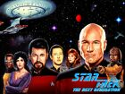 Star Trek The Next Generation  8x10 11x17 16x20 24x36 27x40 TV Poster Vintage B on eBay