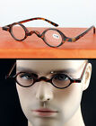 Small Round Oval Retro Vintage Eyeglass Frame Reading Glasses CE +1 +2 +3 +3.5