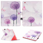 Smart Magnetic Painted PU Leather Wallet Case Cover For iPad 2 3 4/Mini 4/Air 2