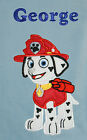 Marshall (Paw Patrol) Personalised Applique Soft Fleece Blanket