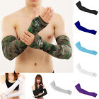 1Pair UV Sun Protection Cooling Sport Arm Sleeves Gloves Golf Bike Cycling Cover