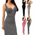 Sexy Women Ladies SlimBodycon Maxi Casual Evening Cocktail Beach Party Dress