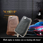 Car Remote Key Fob Case Holder Cover Chains Top Leather For Toyota 3B Remote