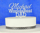 Cake Topper Fathers Day Dad Birthday